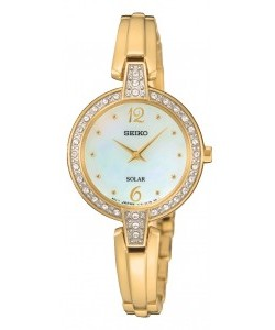 Seiko Ladies Dress Solar Watch SUP290P9