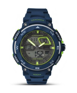 Sekonda Gents Chronograph-Alarm Watch 1162