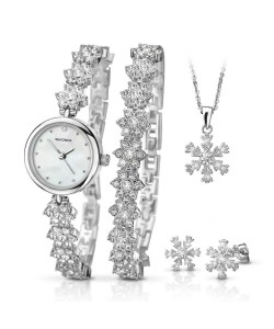 Sekonda Ladies Snowflake Gift Set 2087G