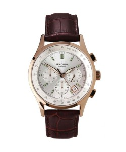 Sekonda Gents Rose Chrono Watch 3847