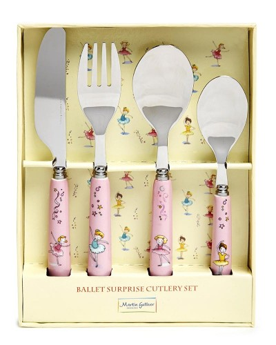 Martin Gulliver Ballet Surprise 4 Piece Cutlery Set