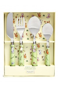 Martin Gulliver Farm Yard 4 Piece Cutlery Set
