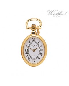 Woodford Oval Pendant Watch 1209
