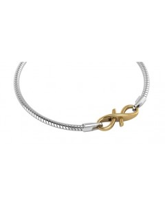 Endless Gold Plated Sterling Silver JLo Infinity Bracelet 3050