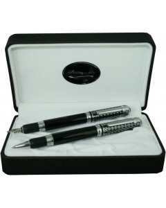 Autograph 'Celtic' Fountain & Rollerball Pen Set ASCE