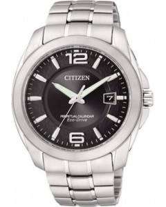 Citizen Gents Perpetual Calendar Eco-Drive Watch BL1240-59E