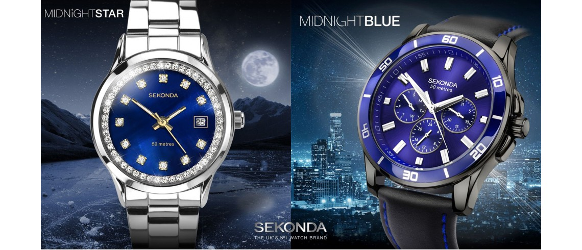 Sekonda Midnight Blue