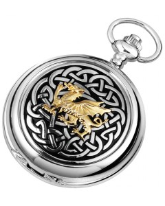 Woodford Full Hunter Welsh Dragon Pocket Watch 1912