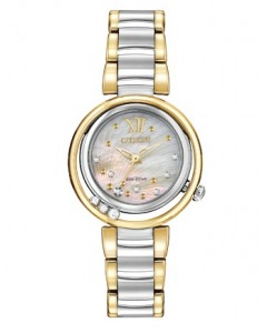 Citizen Ladies Sunrise Eco-Drive Watch EM0324-58D