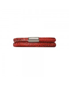 Endless JLO Red Reptile Double Bracelet 1002-38