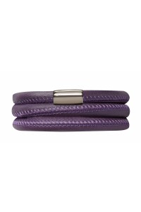 Endless Purple Triple Bracelet 12106-60