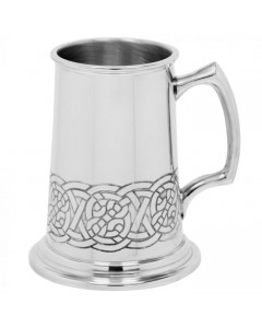 Pewter Heavyweight Celtic Knot Tankard CEL202