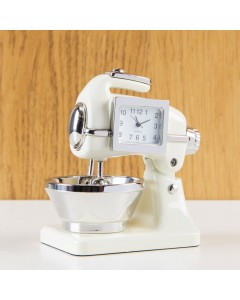 Miniature Food Mixer Clock 9610