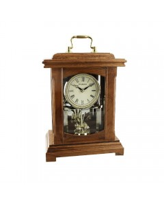 Wm. Widdop Oak Lantern Mantel Clock W2006