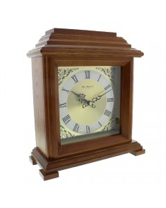 Wm. Widdop Walnut Mantel Clock W2604W