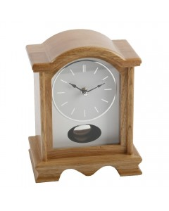Wm. Widdop Oak Pendulum Mantel Clock W2605OAK