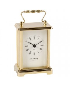 Wm. Widdop Gold Plated Carriage Clock W4307