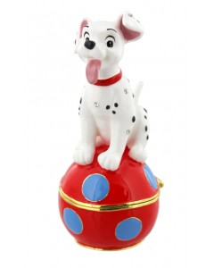 Disney Trinket Box - Dalmatian Puppy DI343