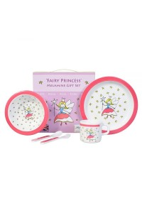 Martin Gulliver Fairy Princess 5 Piece Melamine Set