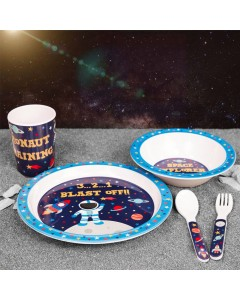 5pce Space Explorer Tableware Set CH213