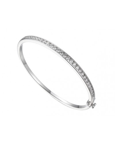 Amore Sterling Silver Icicle Bangle 9218SILCZ