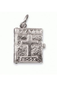 Sterling Silver Prayer Book Charm SC2089