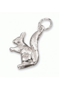 Sterling Silver Squirrel Charm SC2205