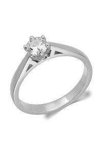 9ct White Gold Diamond Engagement Ring R3984025 W9