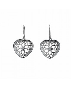 Hot Diamonds Sterling Silver 'Levanter' Drop Earrings DE281