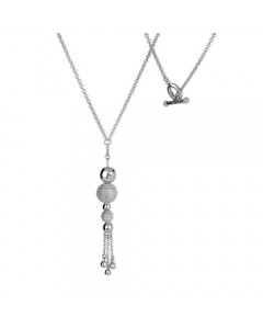 Hot Diamonds Sterling Silver 'Ula' Maxi Drop Necklet DN052