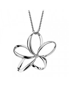 Hot Diamonds Sterling Silver 'Paradise' Pendant DP231