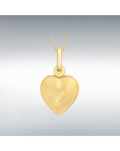 9ct Gold 20mm 'Mum' Heart Locket 1.65.1613