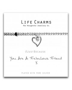 Life Charms Fabulous Friend Bracelet 5060460074244