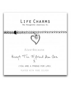 Life Charms Ffrind Am Oes Bracelet 5060460075159
