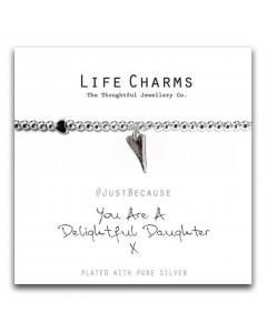 Life Charms Delightful Daughter Bracelet 5060460077689