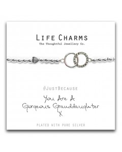 Life Charms Gorgeous Granddaughter Bracelet 5060460070079