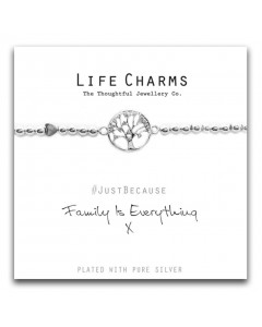 Life Charms Family Is Everything Bracelet 5060460070970