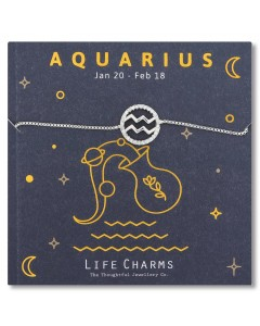 Life Charms Aquarius Bracelet 5060680900408