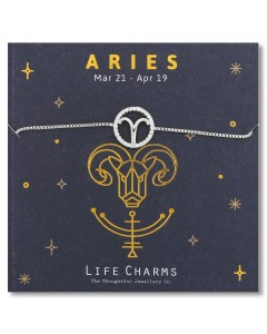 Life Charms Aries Bracelet 5060680900453