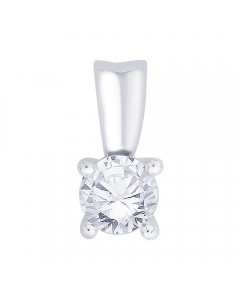 18ct White Gold 0.40ct Diamond Pendant P40-18PCW