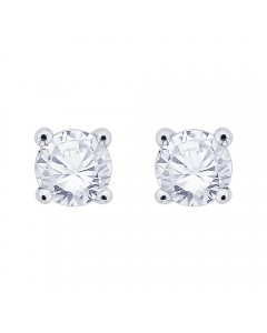 18ct White Gold 0.20ct Diamond Stud Earrings STUD20-18PCW