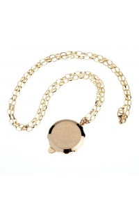 SOS Talisman 9ct Gold Plain Pendant With Chain 240 001