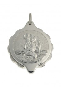 SOS Talisman Stainless Steel St. Christopher Pendant 225 102