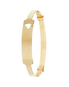 9ct Gold Baby Identity Bangle BN130ID7