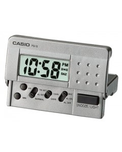 Casio LCD Travel Alarm Clock PQ-10D-8REF