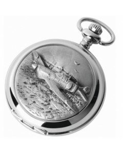 Woodford Full Hunter Spitfire Pocket Watch 1892