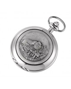 Woodford Full Hunter Steam Train Pocket Watch 1893/Q