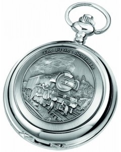 Woodford Full Hunter Flying Scotsman Pocket Watch 1893/Q