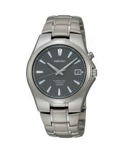 Seiko Gents Kinetic Titanium Watch SKA211P1