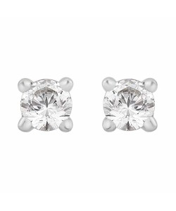 18ct White Gold 0.15ct Diamond Stud Earrings STUD15-18PCW